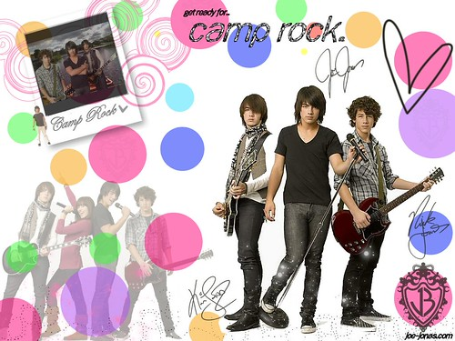wallpapers jonas brothers. camp rock wallpapers.