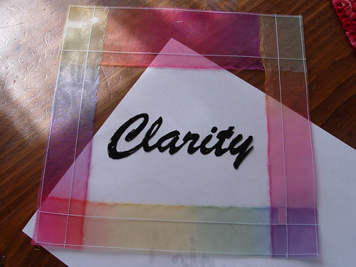 clarity prayer flag