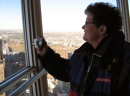 The Calgary Tower views
