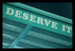 Deserve it (and_never_more) Tags: blue roof green lines night la turquoise angles powerlines sfv overhang deserve