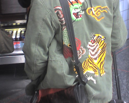 1st prize for jacket of the day