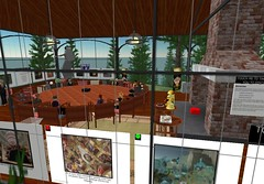 Mini-Conference in Second Life (by PiAir (Old Skool))