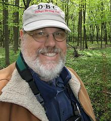 Got a new hat! (Jim Frazier) Tags: selfportrait nature forest woodland illinois spring woods birding may dupage batavia kanecounty kane fermilab 2008 count q2 dupagecounty toorganize ferminationalacceleratorlaboratory tostategroup springbirdcount 200805springcount nobatblog