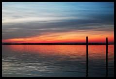 LBI (Kiersten Jacobsen) Tags: ocean new sunset sky sun beach beautiful sunshine nikon skies lbi jersey d40x