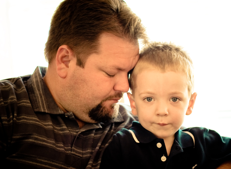 The two men in my life!