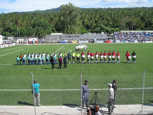 Comoros - Football match Comoros v. Madagascar by nyon45.