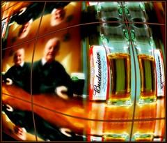 BEER BUDDY! (Edward Dullard Photography. Kilkenny, Ireland.) Tags: kilkenny ireland beer bar pub drink photographic alcohol budweiser dullard edwarddullard societyedward