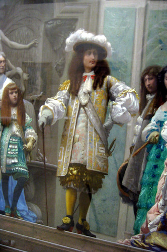 Réception du Grand Condé par Louis XIV (Versailles, 1674)_detail