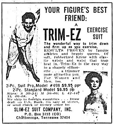 Cosmo ads 1966 Trim-Ez