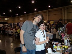 Matt Fraction and wife Kelly Sue