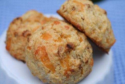 Apple Cheddar Scones (Tuesdays with Dorie)