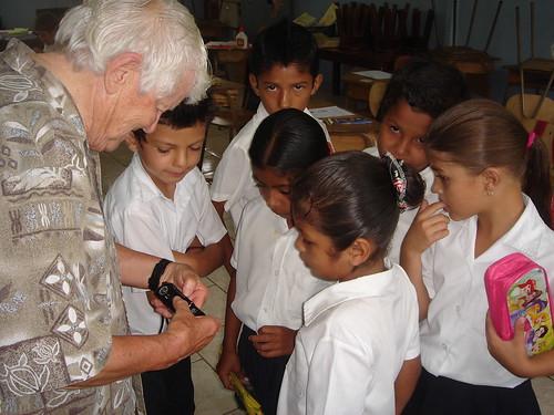 Kay Gilliland en la Isla de Chira