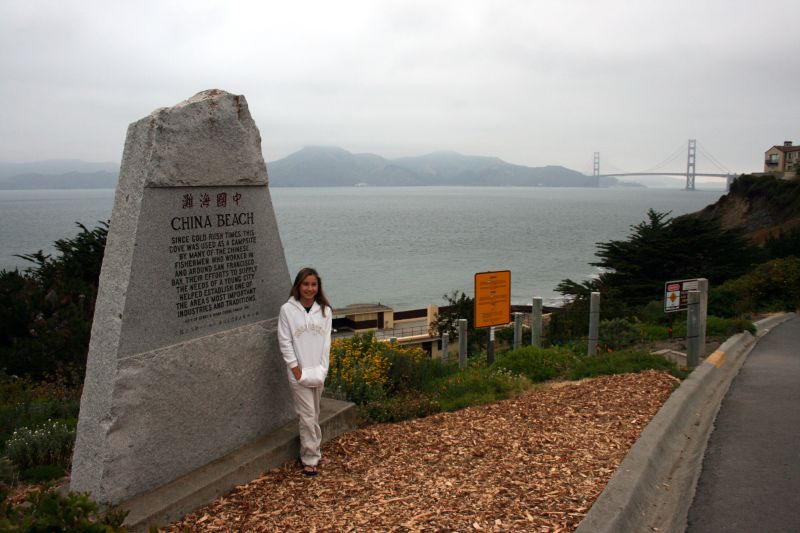 Collette at China Beach