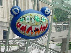 murakami at the brooklyn museum