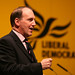 Simon Hughes speaking at Lib Dem Spring conference, Liverpool 2008