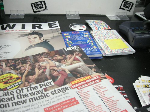 LOTP in NME & QOS Flyer, Sticker! in Rough Trade