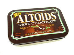 Altoids Dark Chocolate: Creme de Menthe Tin
