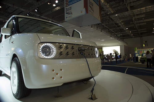 The Nissan Denki at the 2008 London Motor Show. Photo by N.Gordon-Bloomfield