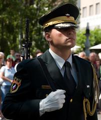 Dfil Militaire (Damien [Phototrend.fr]) Tags: ljubljana militaire slovnie dfil slovnie