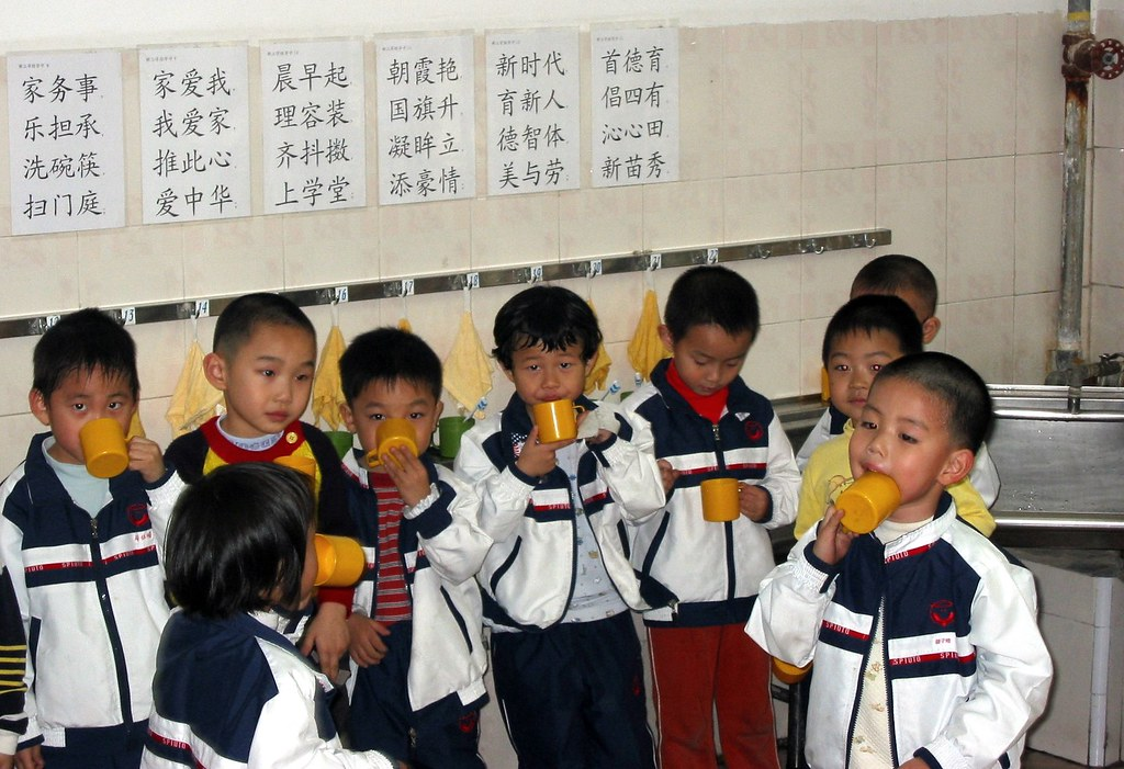 China 2004 - kindergarteners