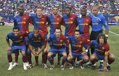 NYREDBULLS 2 FC Barcelona 6  Aug 6, 2008
