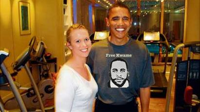 Obama: Free Kwame