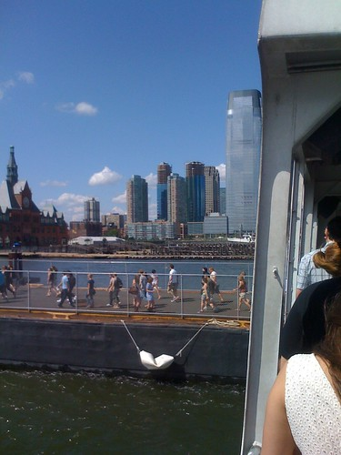 Getting Off The APW Ferry