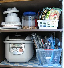 After: Middle of organized pantry 3