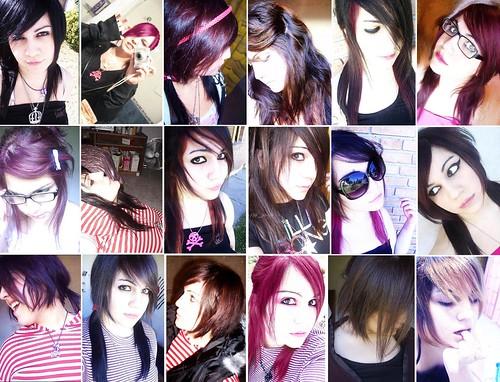 colores de cabello. Mis colores y cortes de pelo.