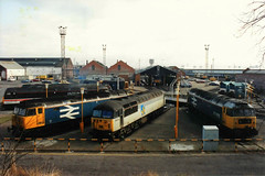56050_5.2.92 (runtheredline) Tags: old oak rail turntable british locomotive common snowplough class47 class56 tinsleyunofficialname