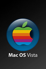 Mac OS Vista IPhone wallpaper