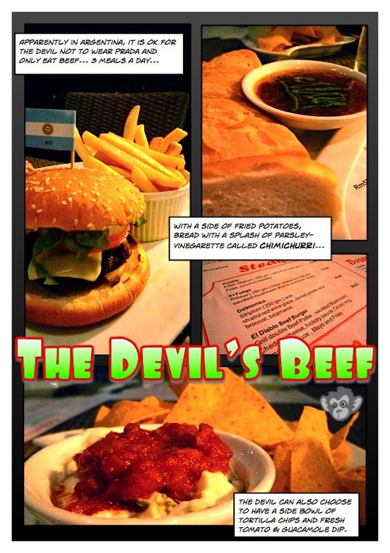 Maredo's Devilish Burger