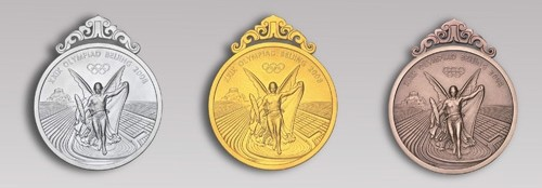 2008 Olympic Medals Obverse