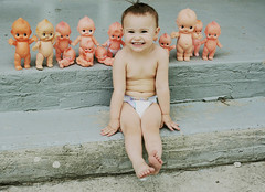 Sadie & the Kewpies (boopsie.daisy) Tags: 2 two baby girl babies little sweet sadie kewpie kewpies