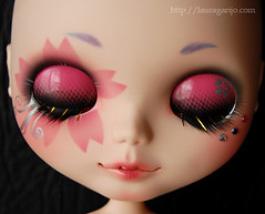 Radiactive Sakura - Custom Blythe