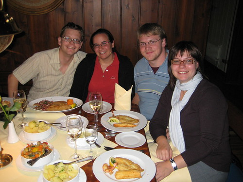 Dinner in Bremerhaven