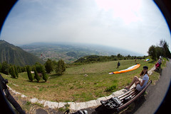 View from the edge (fenlandsnapper) Tags: 15fav fisheye paragliding montegrappa venetoplain sigma8mmf35exdg