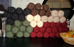 King size afghan yarn