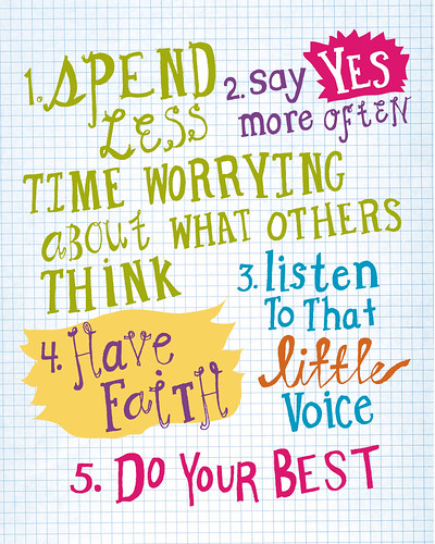 Five point plan by sarah_gardner.