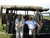 Foto de grupo en el Masai Mara