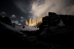 Torres (Carlos_Daz) Tags: chile patagonia sunrise towers torres paine