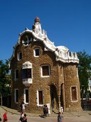 Gingerbread House (francesbean) Tags: barcelona park españa spain europa europe bcn catalonia espana gaudi catalunya guell parc antoni gràcia spagna güell gaud španielsko