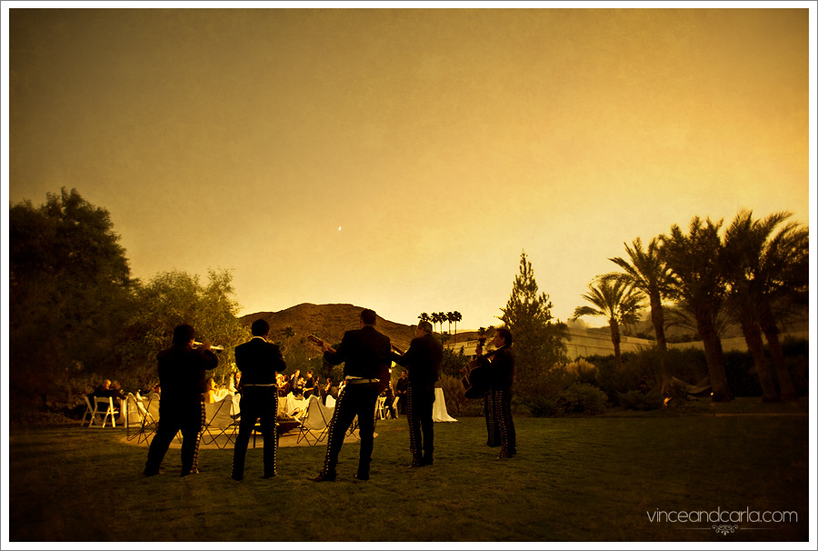 mariachi the parker palm springs le gay wedding hotel cabin meridien