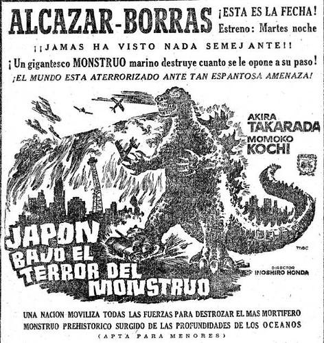 1956: Godzilla llega a España 2