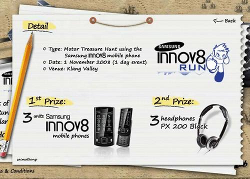 Samsung Innov8 Run Prize