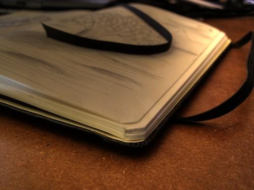 """Moleskine sketchbook • <a style=""""font-size:0.8em;"""" href=""""http://www.flickr.com/photos/29952986@N05/2974374496/"""" target=""""_blank"""">View on Flickr</a>"""