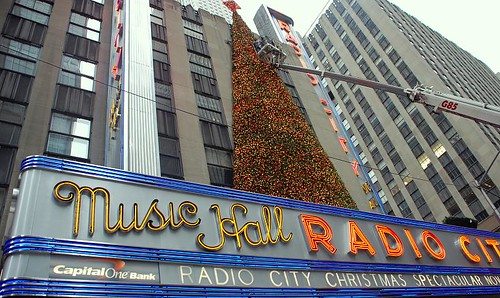 Radio City XMAS tree