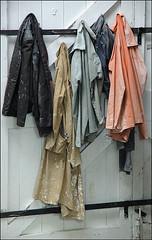 Barbara Hepworth's Coats (Duncan Darbishire) Tags: sculpture art clothes stives hepworth duncandarbishire