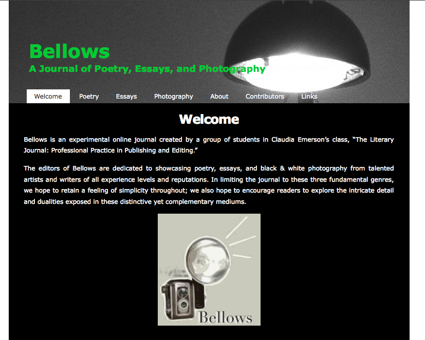 Bellows Journal