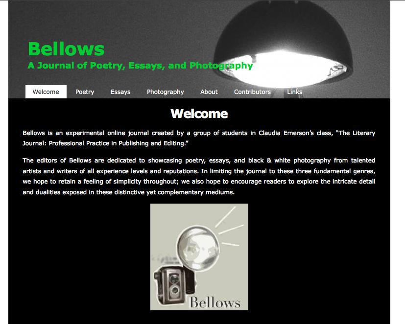 Bellows Journal